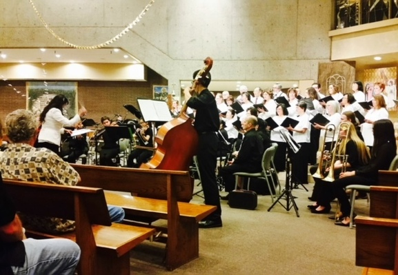 St. Martin de Porres Church Combined Choirs and Orchestra