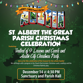 Festival of 9 Lessons and Carols and Parish Christmas Celebration