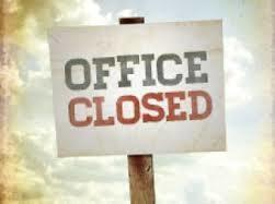 Church Office Closing Early