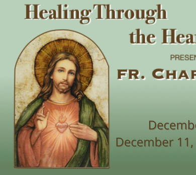 Healing Through the Heart of Jesus - Day 1
