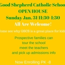 Open House at Our School-- Jan 31