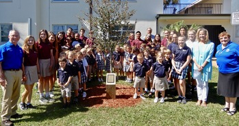 SHCS Students Participate in Centennial Tree Dedication