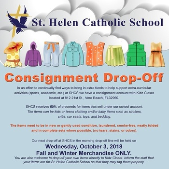 Consignment Drop Off