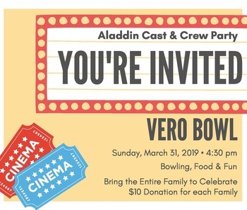 Cast & Crew Party at Vero Bowl