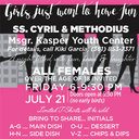 Girls just want to have fun at Ss. Cyril and Methodius Msgr. Kasper Youth Center | Friday, July 21