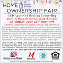 Homeownership Fair | Dare to Own the Dream, Beat the Odds | July 22