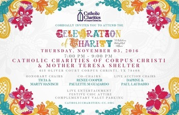 Catholic Charities & Mother Teresa Shelter 2016 Benefit Fundraiser