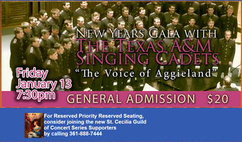 Cathedral Concert Series New Years Gala | January 13, 7:30P