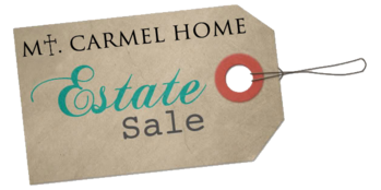 Mt. Carmel Home Estate Sale | July 27 - 29, 7 AM -3 PM