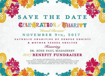 "November 9th | 2nd Annual Celebration of Charity ""Grand Bazaar"" Benefit Fundraiser"