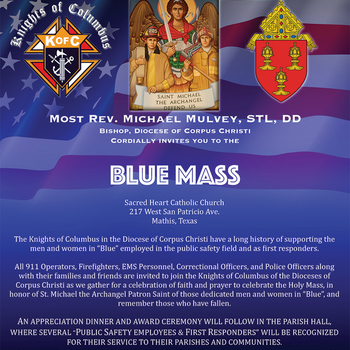 16th Annual Blue Mass