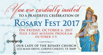 Rosary Fest 2017 + 3-Day Mission Program