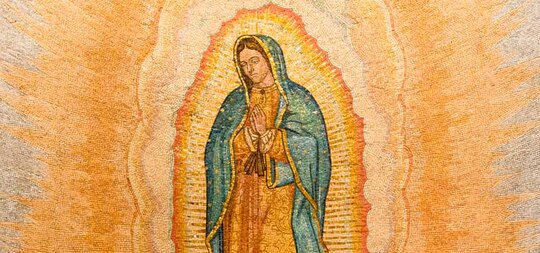 Prayer to Our Lady<br />of Guadalupe