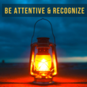 Be Attentive & Recognize