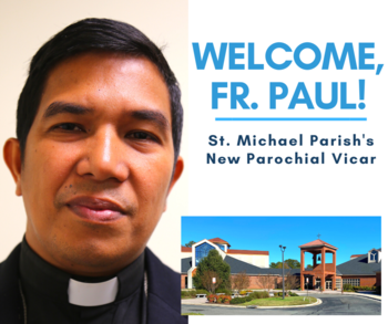 Welcome, Fr. Paul!