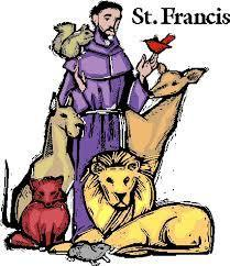 Pet Blessings- Feast of St. Francis of Assisi
