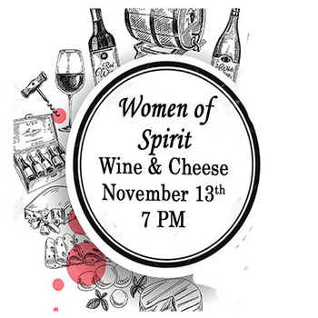 Women of Spirit's Wine and Cheese Celebration