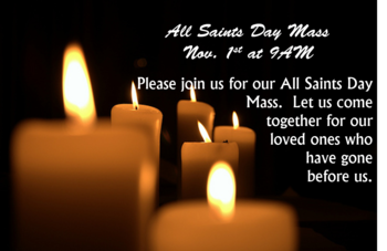 All Saints Day Mass