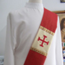 Jerusalem Cross Deacon Stole