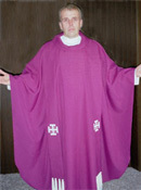 Jerusalem Cross <div>  available in all Liturgical Colors </div>