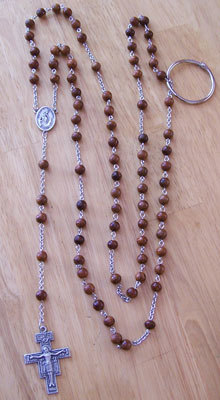 Franciscan Crown Rosary (chain link)