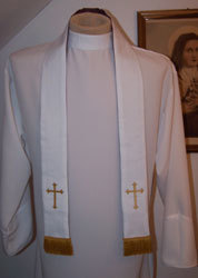 POCKET - Reversible Mini Stole  <div>   also known as Confessional Stole  </div>