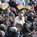 Humble service, now 'that's amore,' pope says at audience