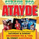 Coming to McVinney this weekend - Renato the Clown & Circus FCO Atayde