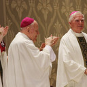 Bishop Robert E. Mulvee marks 60th anniversary as a priest, 40th as a bishop
