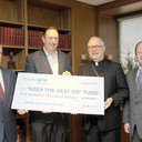 National Grid Foundation awards $100,000 donation to diocesan 'Keep the Heat On' program