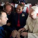 Pope marries couple on flight during Chilean trip