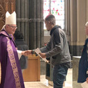 Participants in Rite of Election welcomed to Cathedral