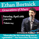 THIS SATURDAY NIGHT! Ethan Bortnick in Concert at McVinney!