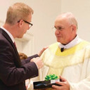 Father Roger Gagne honored as Distinguished Catholic School Pastor