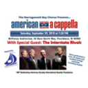 THIS WEEKEND! Narragansett Bay Chorus presents American A Cappella