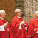 Bishops Tobin, Evans at Vatican to meet with Pope Francis