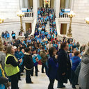 Hundreds stand up for life in Rhode Island
