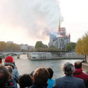 Diocese shows solidarity with Paris in wake of Notre Dame Cathedral fire