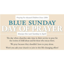 Blue Sunday Day of Prayer