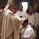 Bishop Ordains Seminarian to Transitional Diaconate