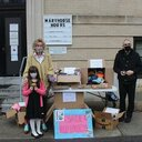 Youngster using artistic talent to help the homeless