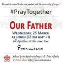Pray the Our Father with Pope Francis