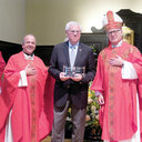 Bishop Tobin visits St. Thomas More Parish