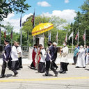 Westerly Corpus Christi procession proclaims Eucharistic hope in the midst of a pandemic