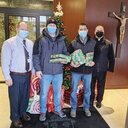 State Police assists diocese in its mission to share joy of Christmas with families in need