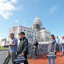 Commemoration of 40 Days for Life opens with rally, Jericho Walk
