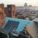Cathedral roof replacement project nearing completion