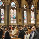Candidates pledge their commitment to participate in sacramental life of the Church