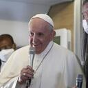 Returning from Iraq, pope talks about 'risks' taken on trip