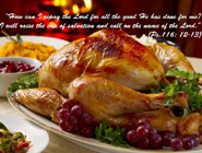 From Bishop Tobin: A Happy and Blessed Thanksgiving